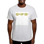 Roshambo Hands Ash Grey T-Shirt