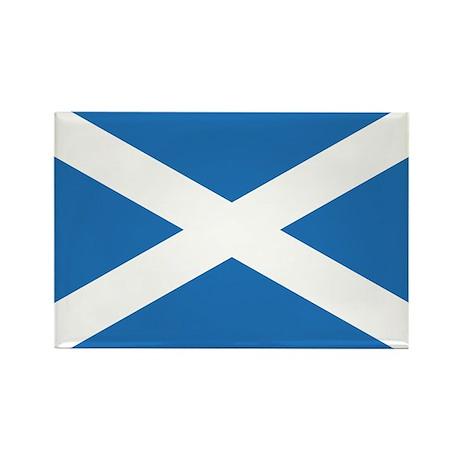 Scotland Flag Rectangle Magnet (10 pack)