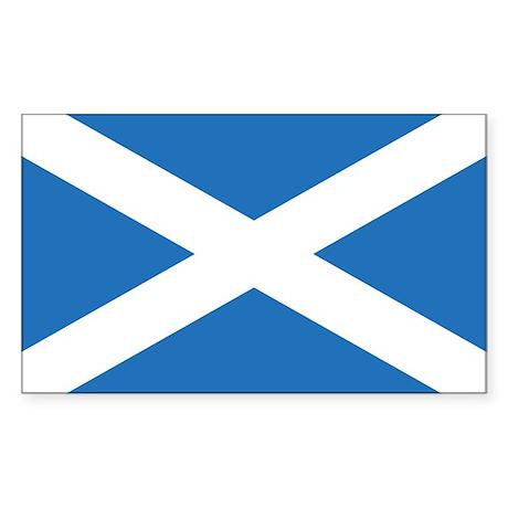 Scotland Flag Rectangle Sticker