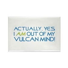 Out of My Vulcan Mind Rectangle Magnet (100 pack)