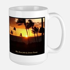 Maui Sunset photo Mugs