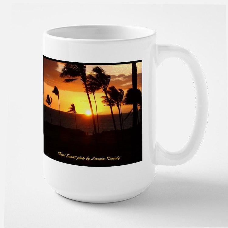 Maui Sunset photo Mugs
