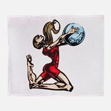 Physical Fitness Throw Blanket