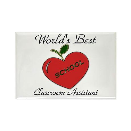 Worlds Best Teacher Apple class assist copy Magnet
