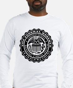Federal Reserve Seal Long Sleeve T-Shirt