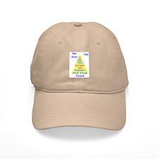 New Jersey Food Pyramid Baseball Cap