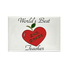 Preschool teacher Rectangle Magnet (100 pack)