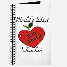 Cute 3rd grade teacher Journal