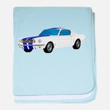 Unique 1968 ford mustang baby blanket