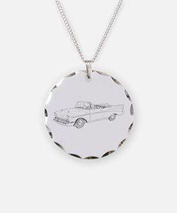 Chevy Bel Air Convertible 195 Necklace