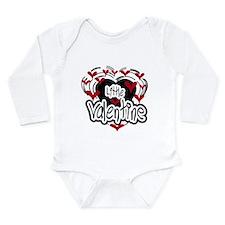Little Valentine Red Long Sleeve Infant Bodysuit