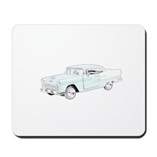 1955 Chevy Bel Air - colored Mousepad