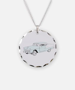 1955 Chevy Bel Air - colored Necklace
