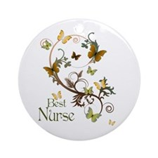 Best Nurse Ornament (Round)