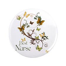 """Best Nurse 3.5"""" Button"""