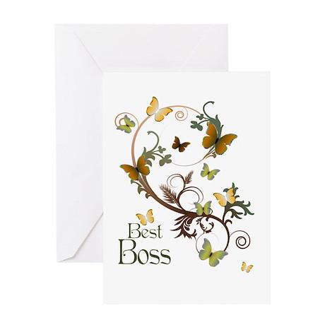 Best Boss Greeting Card