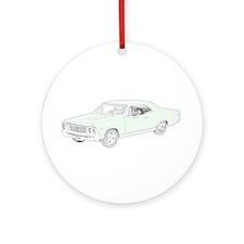 Chevy Chevelle 1967 -colored Ornament (Round)