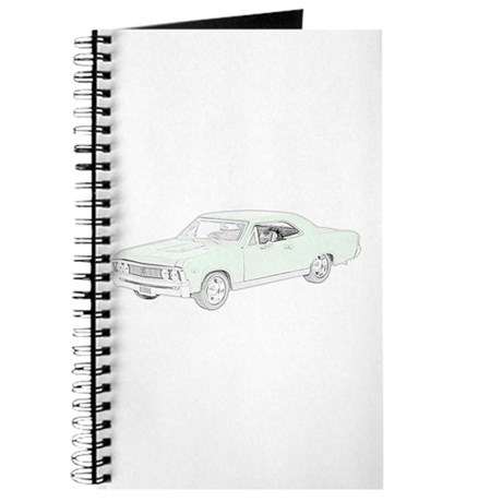 Chevy Chevelle 1967 -colored Journal