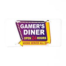 Gamer's Aluminum License Plate