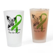 Ribbon Drinking Glass