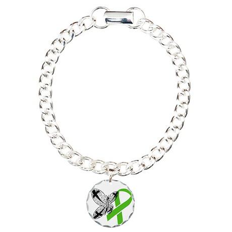 Ribbon Charm Bracelet, One Charm