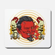 Smoking Devil Mousepad
