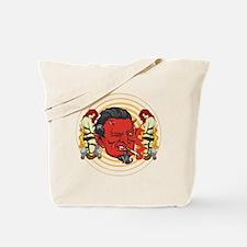 Smoking Devil Tote Bag