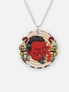 Smoking Devil Necklace