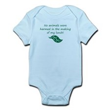 Vegan baby Body Suit
