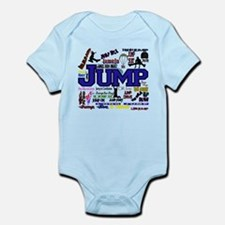 Cute Jump rope Infant Bodysuit