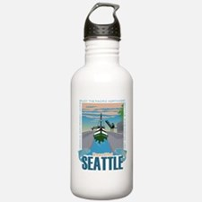 Beautiful Seattle Water Bottle