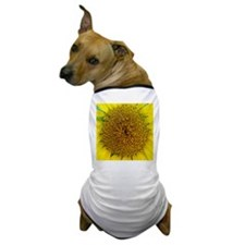 Sunflower Photograph Dog T-Shirt