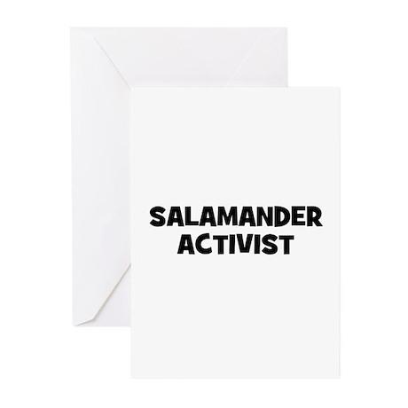 Salamander Activist Greeting Cards (Pk of 10)