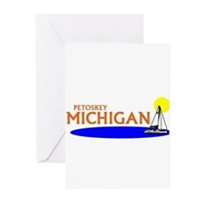 Funny Palm beach Greeting Cards (Pk of 10)