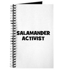 Salamander Activist Journal