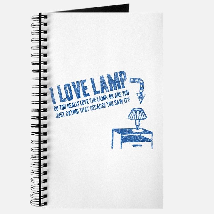 I Love Lamp Journal