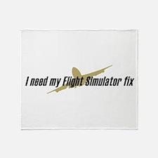 I Need my FS fix Throw Blanket