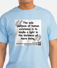 Jung Purpose Quote T-Shirt