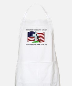 Memorial Day Some gave all .. BBQ Apron