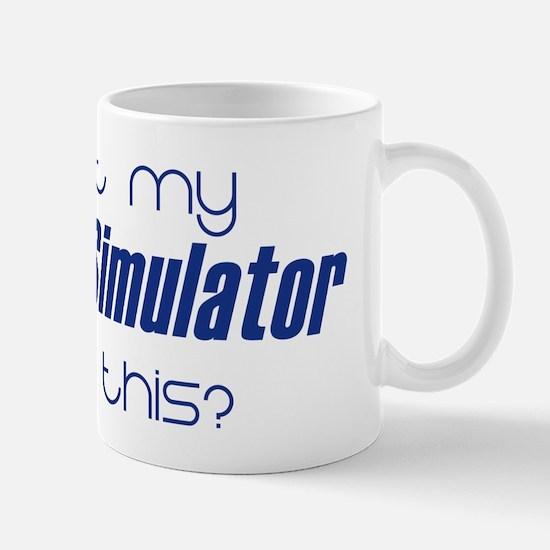 I left my Flight Simulator fo Mug