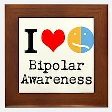 I <3 Bipolar Framed Tile