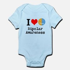 I <3 Bipolar Infant Bodysuit