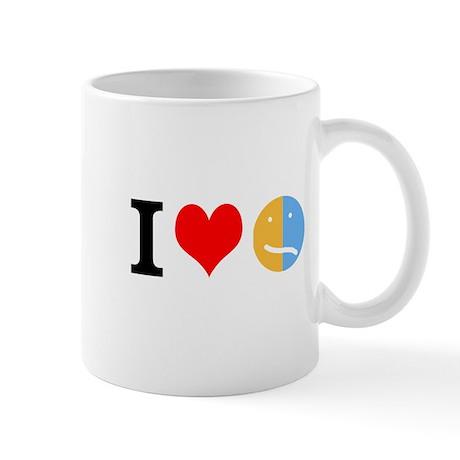 I <3 Face Mug