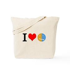 I <3 Face Tote Bag