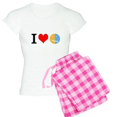 I <3 Face Women's Light Pajamas