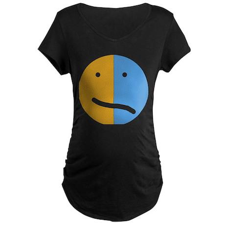 BP Face Maternity Dark T-Shirt