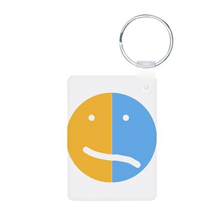 BP Face Aluminum Photo Keychain