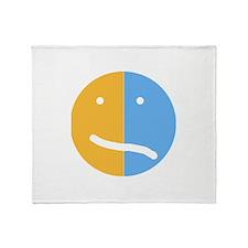 BP Face Throw Blanket