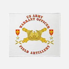 Warrant Officer - Field Artillery Throw Blanket