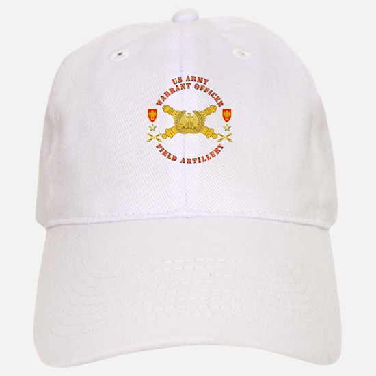 Warrant Officer - Field Artillery Baseball Baseball Cap